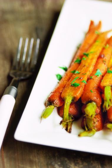 Recept 'worteltjes uit de oven'