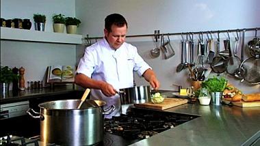 Recept 'bloemkoolsoep met gegratineerde bloemkoolroosjes en ...