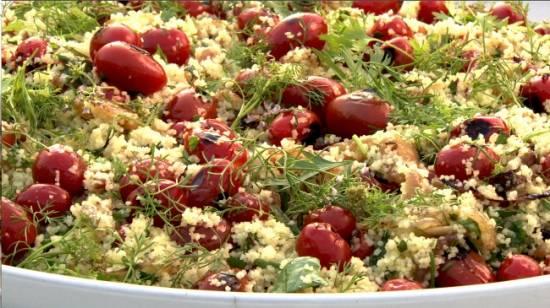 Bijzondere kruidige couscoussalade recept