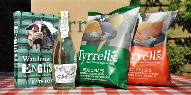 Winnen tyrrells veggie chips pakket