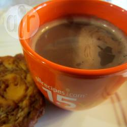 Warme chocolademelk uit de magnetron recept