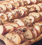 Bijzondere appeltaart met geitenkaas,gember en honing recept ...