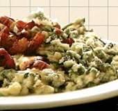 Andijviestampot met spekjes en mosterdkaas recept