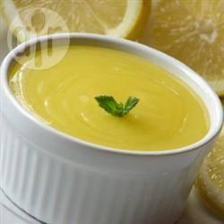 Eenvoudige lemon curd recept