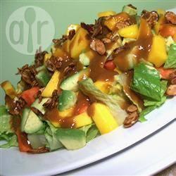 Mango papaya salade recept