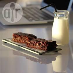 Brownies met amandelmeel recept