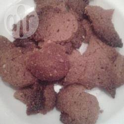 Kletskoppen met pindakaas recept