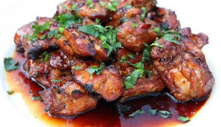 Overheerlijke gebakken javaanse kip recept