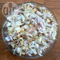 Winterse witlof salade recept