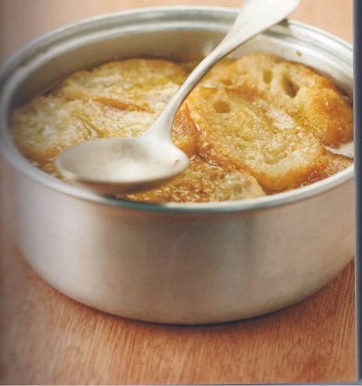 Gegratineerde croute au pot recept