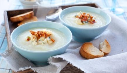Geroosterde bloemkool soep recept