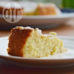 Amandelcake met ricotta en citroen recept