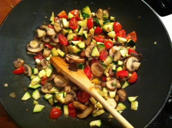 Simpel en snel, vegetarisch recept