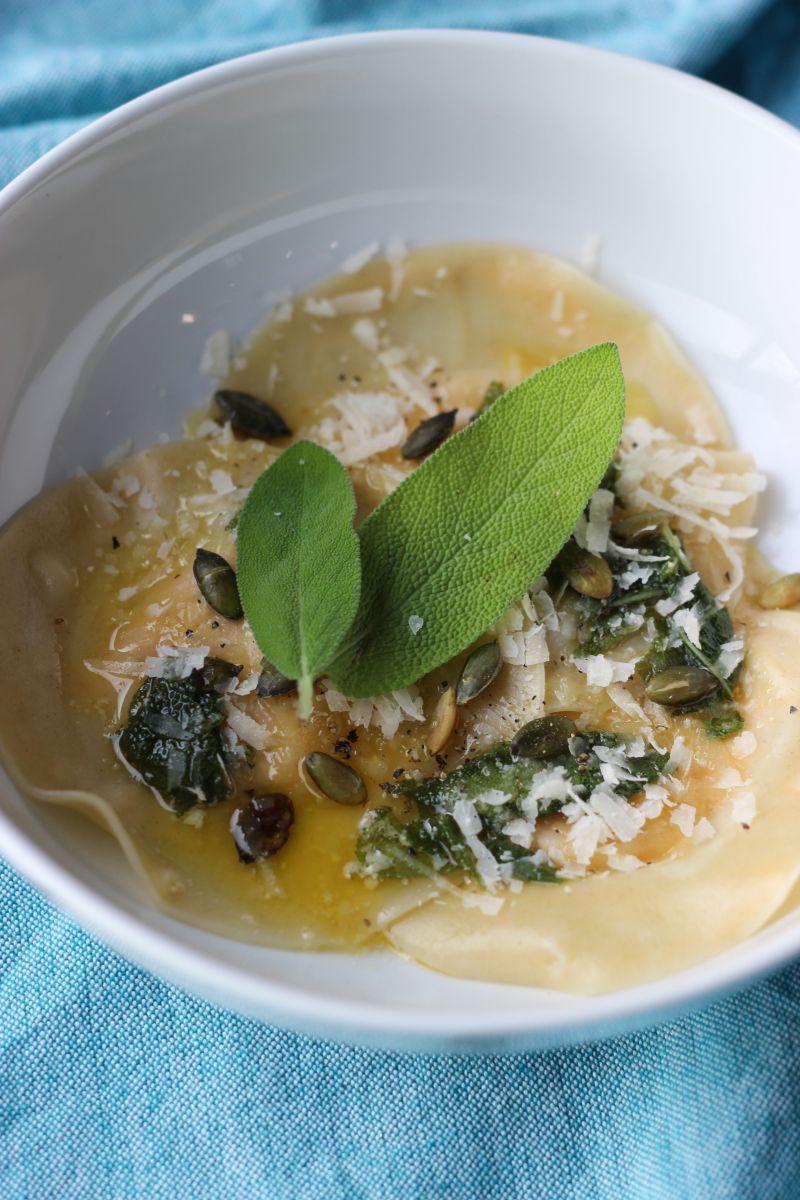 Recept 'pompoenravioli'