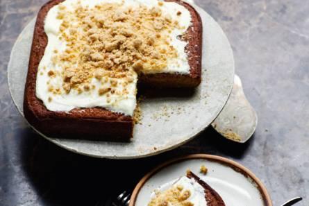 Zoete-aardappelcake