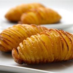 Hasselback aardappels recept