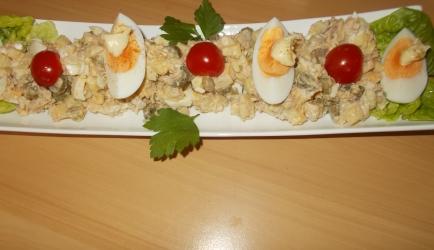 Aardappel-tonijnsalade recept