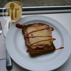 Ham, kaas en ei ontbijttosti recept