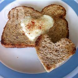 Valentijnsdag eieren recept