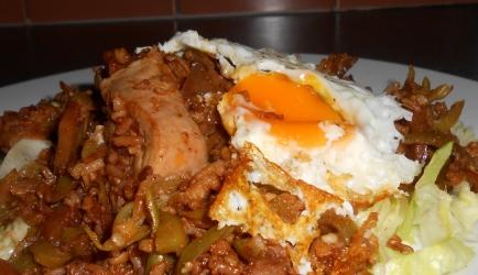 Surinaamse kip met snijbonen en rijst wokgerecht recept ...