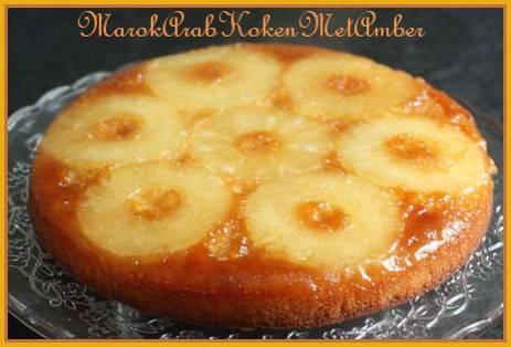 Omgekeerde ananascake recept