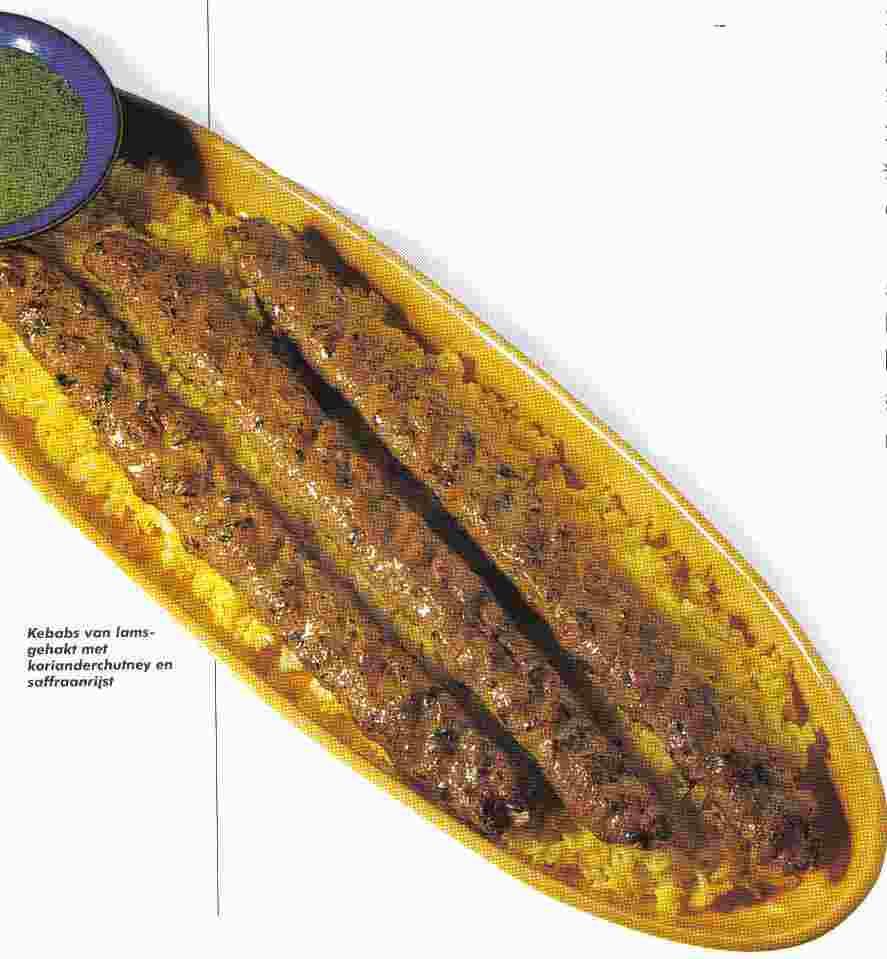 Kebab van lamsgehakt recept