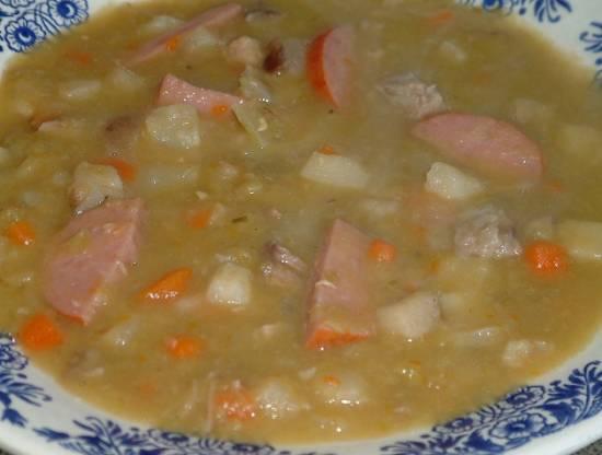 Oer hollands snert als maaltijd soep recept