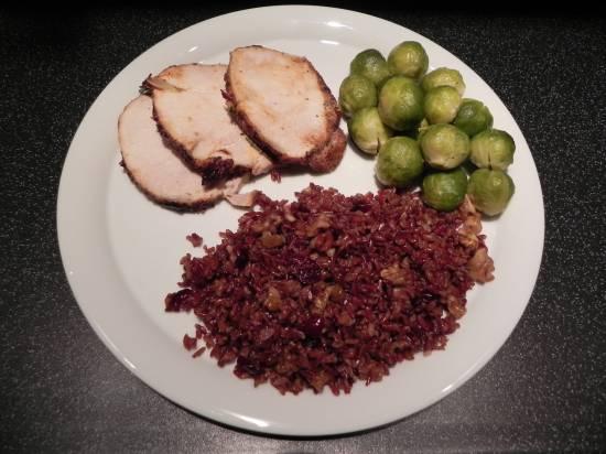 Rode rijst van de camargue met cranberries en walnoten recept ...