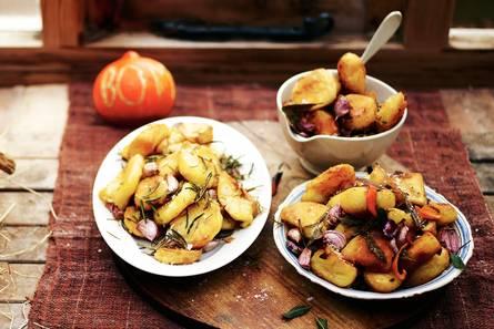 Perfect geroosterde aardappelen (3 smaakcombi's)