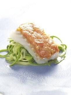 Kabeljauw met tometencompote courgettespaghetti recept ...