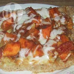 Vegetarische pizza met zoete aardappel en rode linzen recept ...
