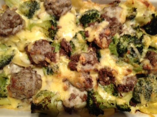 Gehaktballetjes met broccoli en aardappel schotel recept ...