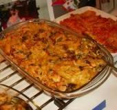 Pasta met kipfilet, courgette, champignons en gedr.tomaten recept ...