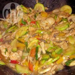 Authentieke thaise kip met cashew recept