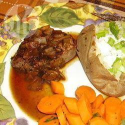 Steak met marsala saus recept