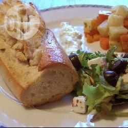 Grieks gevuld stokbrood recept