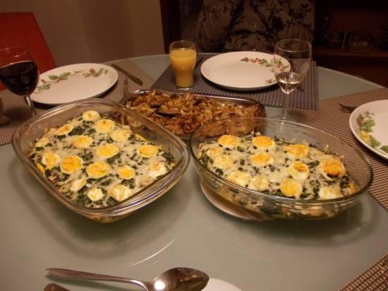 Spinazie ovenschotel recept