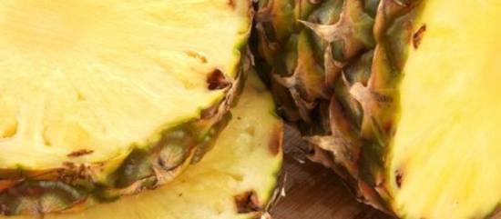 Salade van ananas en rode bieten met feta recept