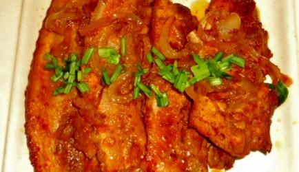 Gemarineerd ovengebakken chinese speklapjes recept