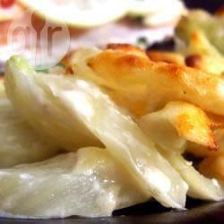 Gebakken venkel met parmezaanse kaas recept