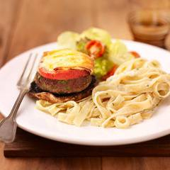 Portobello`s gevuld met tartaar en brie uit de oven recept ...