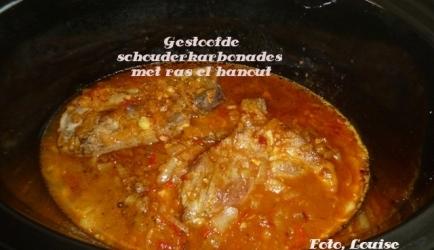 Gestoofde schouderkarbonades met ras el hanout recept ...