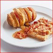 Italiaanse zalm met aardappelen uit de oven recept