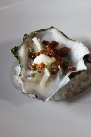 Recept 'oester met karnemelk en dille-olie'