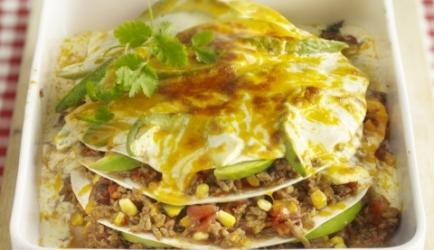 Mexicaanse lasagne recept