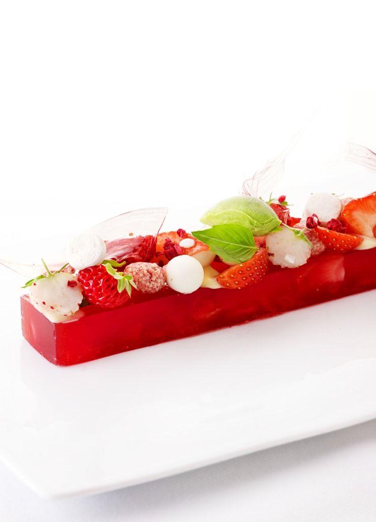 Recept 'terrine van aardbeien'