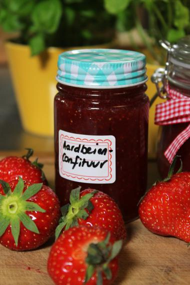 Recept 'aardbeienconfituur'