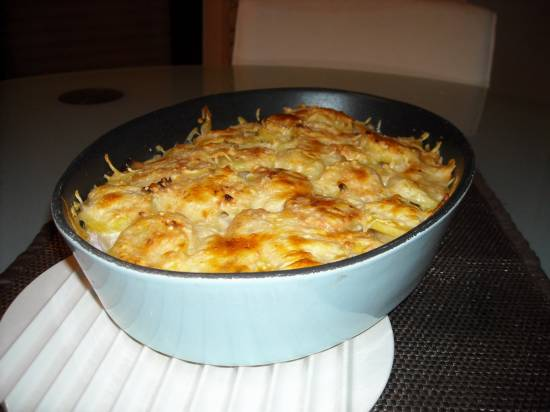 Ovenschotel met asperges, ham en kaas recept