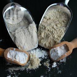 Glutenvrij meel met arrowroot recept
