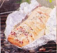 Barbecue, ciabatta recept